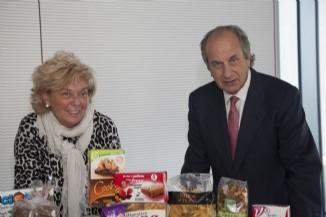 Juan Manuel González Serna, Presidente de Grupo Siro y su Fundación, y Lucía Urbán, Vicepresidenta de Grupo Siro y su Fundación