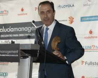 Ricardo Delgado, Presidente de COVAP, recogió el Premio.